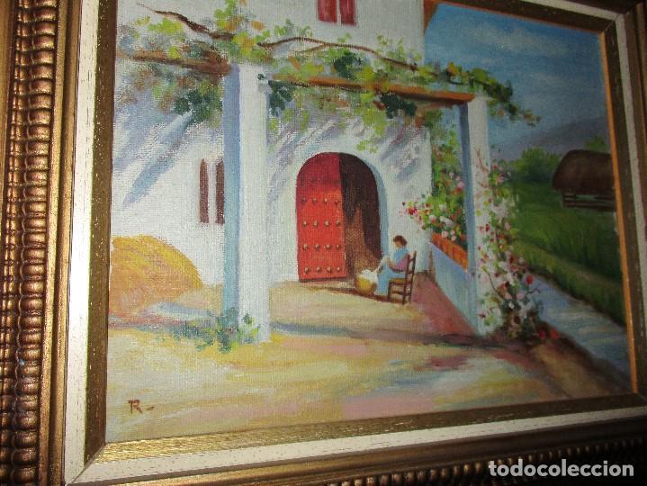 Arte: oleo lote de cuadros al oleo de distintas epocas con estilo clasico y variado - Foto 7 - 108398851