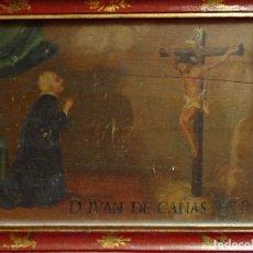 Arte: EXVOTO. JUAN DE CAÑAS AÑO 1754. Lote 108446795