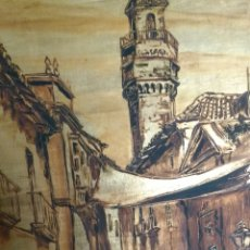 Arte: MIGUEL CASTRO LLERENA. ÓLEO SOBRE TABLA FIRMADO. CÓRDOBA.. Lote 108698218