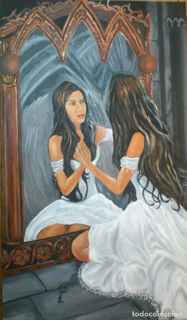 EL ESPEJO OLEO/TABLILLA (Arte - Pintura - Pintura al Óleo Contemporánea )