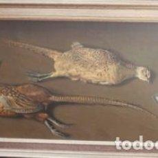 Arte: BODEGON DE CAZA AL OLEO DE JULIO GARCIA SANZ (SAN SEBASTIAN1936). Lote 108855567