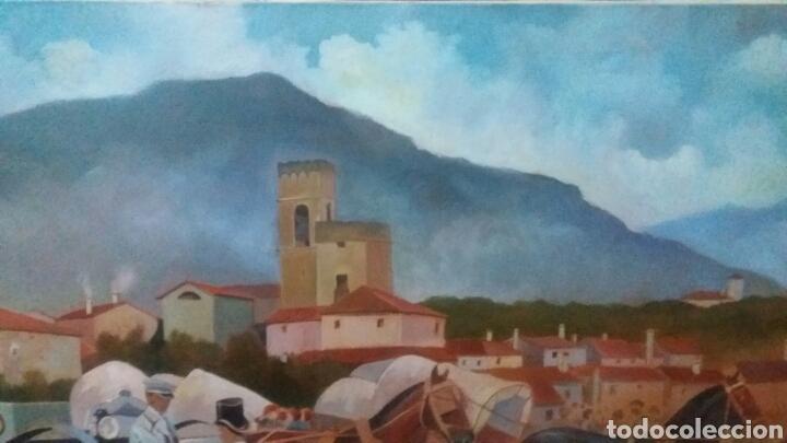 Arte: Pintura oleo en lienzo inacabada 75 x 150 cm - Foto 3 - 109091848
