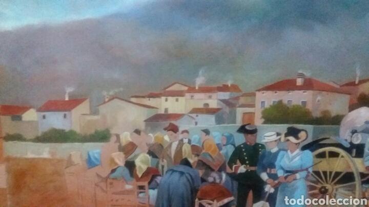 Arte: Pintura oleo en lienzo inacabada 75 x 150 cm - Foto 4 - 109091848