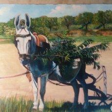 Arte: OLEO SOBRE TABLA 30 X 40 CM BERENGUER LÓPEZ 1991. Lote 109097896