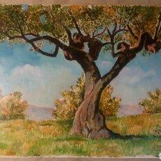 Arte: OLEO SOBRE TABLA 20 X 30 CM BERENGUER LÓPEZ 2001.. Lote 109098355