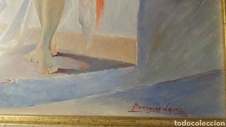 Arte: Oleo sobre tabla 30 x 40 cm Berenguer López. - Foto 2 - 109106968