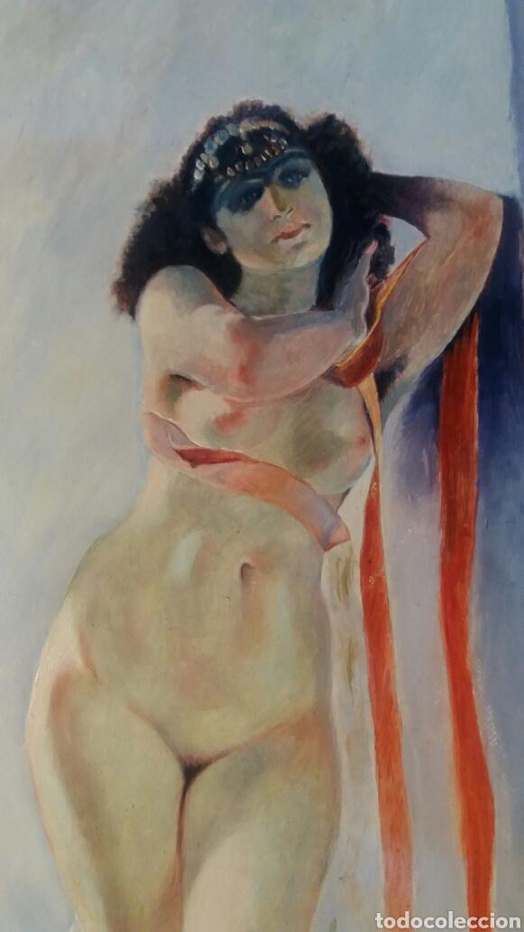 Arte: Oleo sobre tabla 30 x 40 cm Berenguer López. - Foto 3 - 109106968