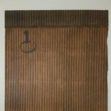 """Arte: JOSÉ LAPASIÓ ORIGINAL SOBRE LÁMINA DE MADERA - """"LLAVES III"""" 32X25 CM. COA. Lote 109246351"""