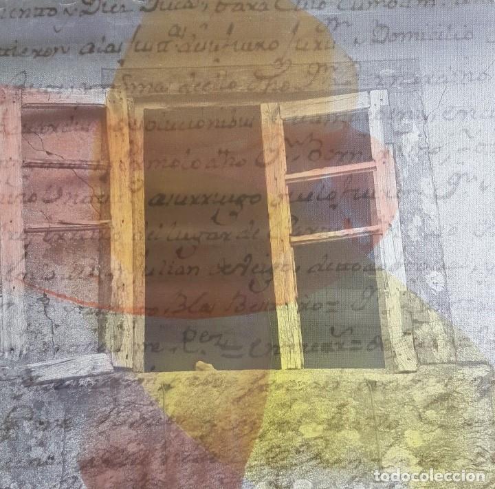 """JOSÉ LAPASIÓ EXCELENTE CUADRO ORIGINAL """"TESTIGOS DEL SENDERO III"""" 50X50 CM. COA (Arte - Pintura Directa del Autor)"""