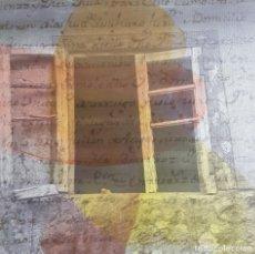 "Arte - JOSÉ LAPASIÓ EXCELENTE CUADRO ORIGINAL ""TESTIGOS DEL SENDERO III"" 50x50 cm. COA - 109252327"