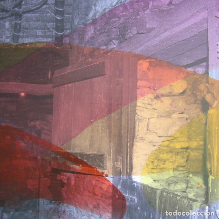 """JOSÉ LAPASIÓ EXCELENTE CUADRO ORIGINAL """"CAMINO MÁGICO XIV"""" 50X50X5 CM. COA (Arte - Pintura Directa del Autor)"""