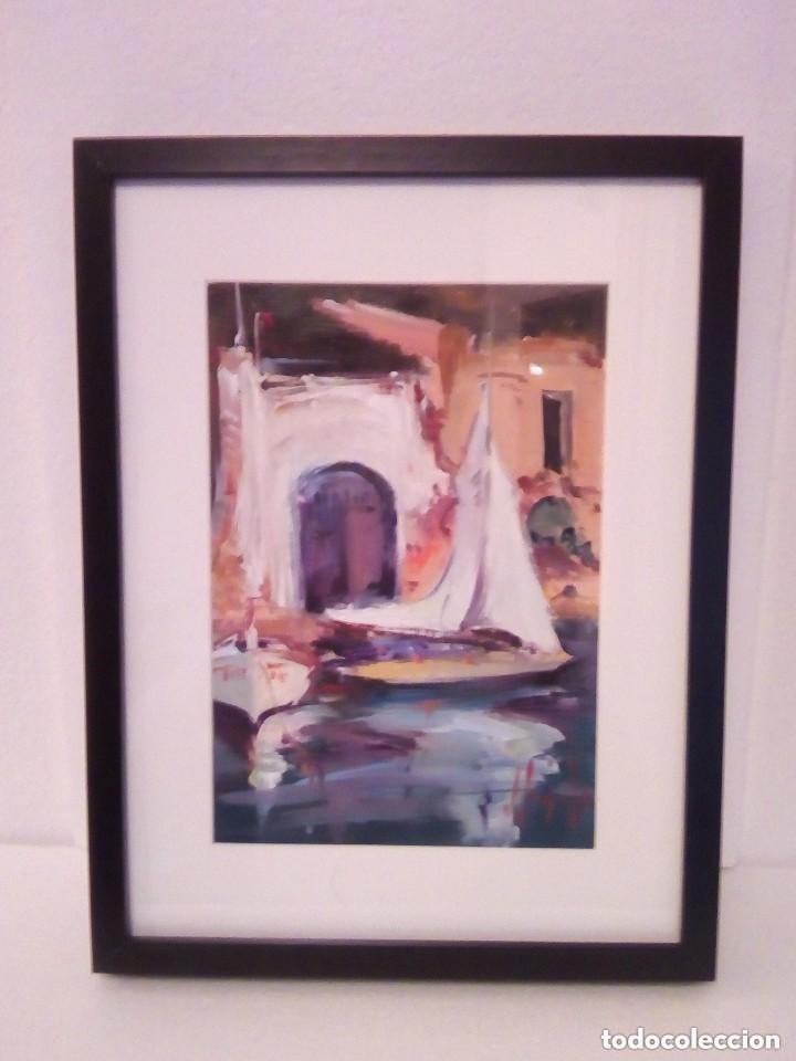 Arte: JOAN SARQUELLA, óleo sobre platex - Foto 2 - 109388371