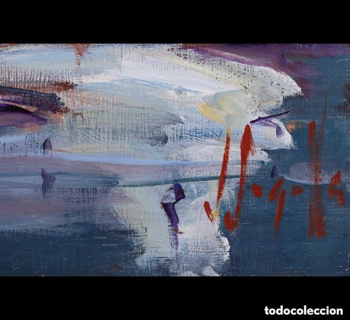 Arte: JOAN SARQUELLA, óleo sobre platex - Foto 3 - 109388371
