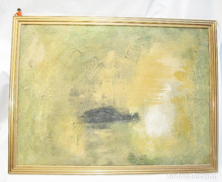 GRAN CUADRO 110X81CM ARTE CONTEMPORANEO TECNICA MIXTA SOBRE LIENZO (Arte - Pintura - Pintura al Óleo Contemporánea )