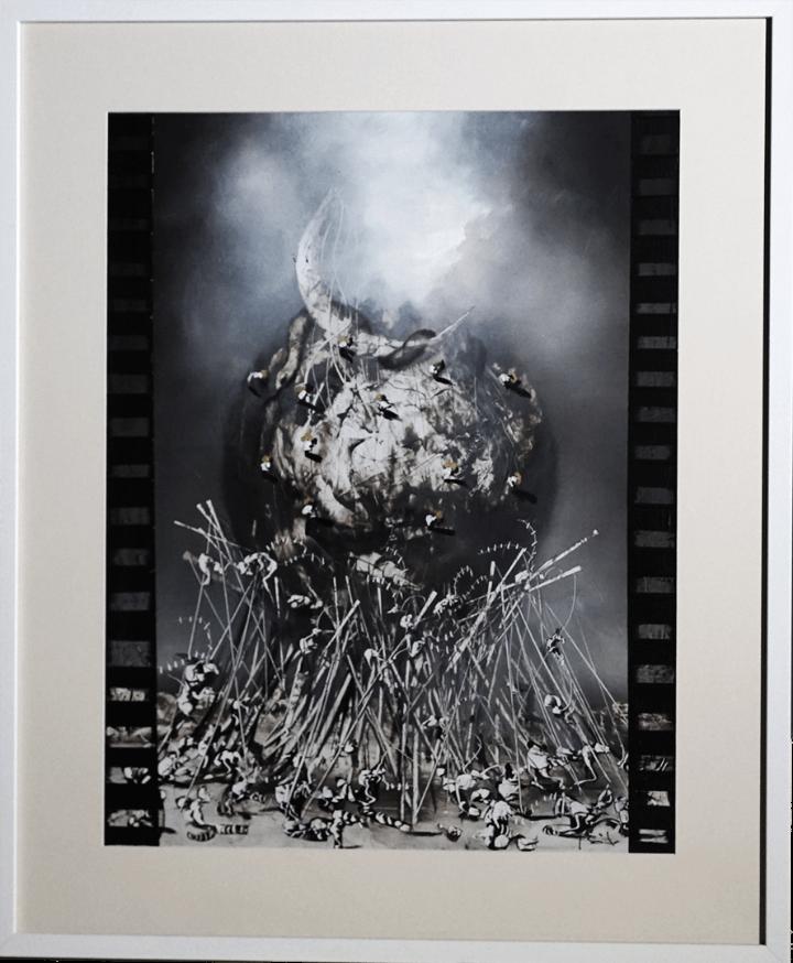 DOS VISIONES DEL BARROCO- JOSE BENITEZ MONTILLA-OLEO SOBRE CARTON (Arte - Pintura - Pintura al Óleo Contemporánea )