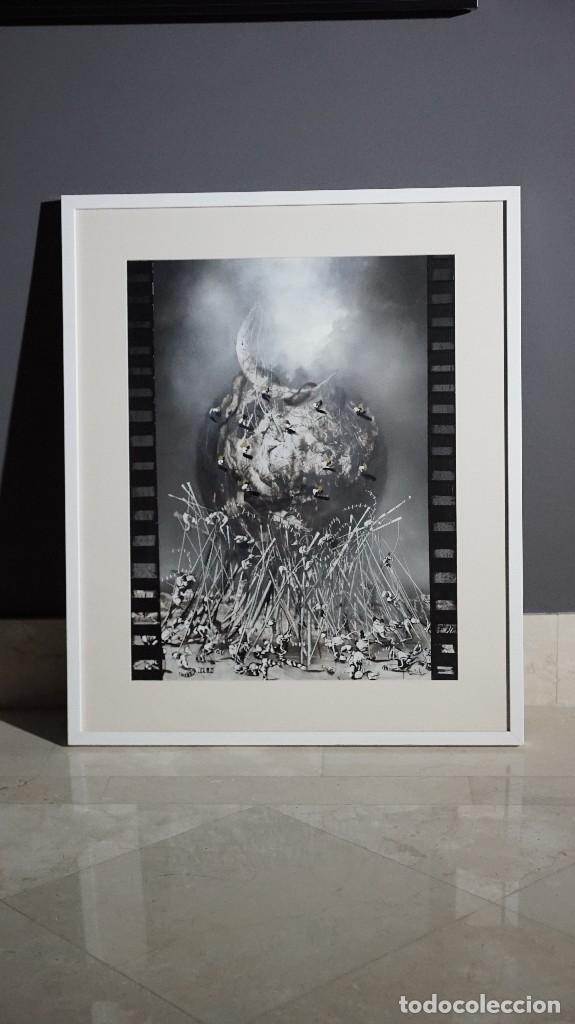 Arte: DOS VISIONES DEL BARROCO- JOSE BENITEZ MONTILLA-OLEO SOBRE CARTON - Foto 2 - 109401687