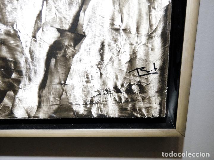 Arte: CTHULHU - JOSE BENITEZ MONTILLA- OLEO SOBRE TABLA - Foto 2 - 109402323