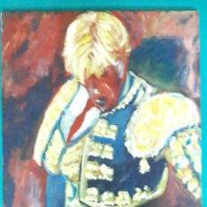 Arte: EL CORDOBÉS. ACRÍLICO SOBRE TABLA 40 X 30 CM. MAELAN. Lote 109425247