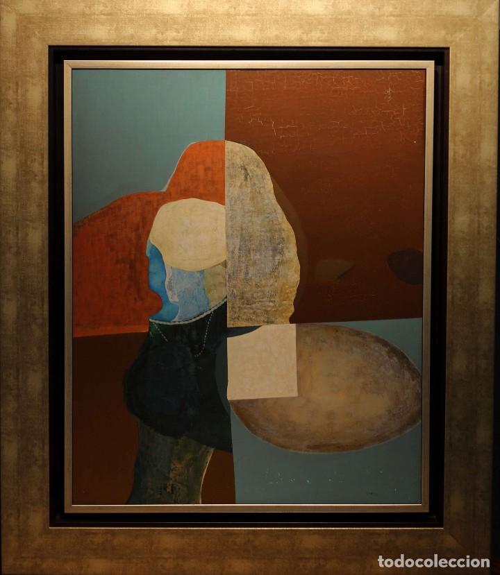 OLEO ABSTRACTO -AÑO 75-ANTONIO JIMENEZ (Arte - Pintura - Pintura al Óleo Contemporánea )