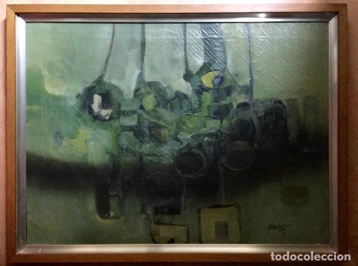 ÓLEO FIRMADO Y FECHADO (Arte - Pintura - Pintura al Óleo Contemporánea )