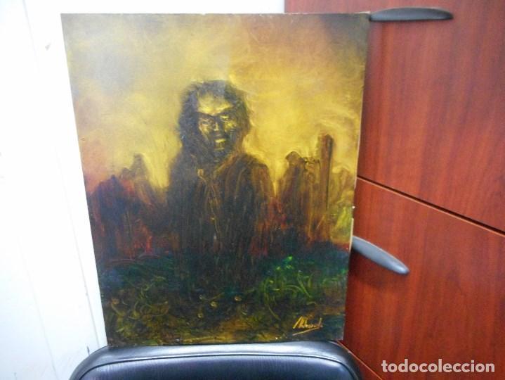 CUADRO DE CAMILO VALENZUELA FIRMADO Y DEDICADO (Arte - Pintura - Pintura al Óleo Moderna sin fecha definida)