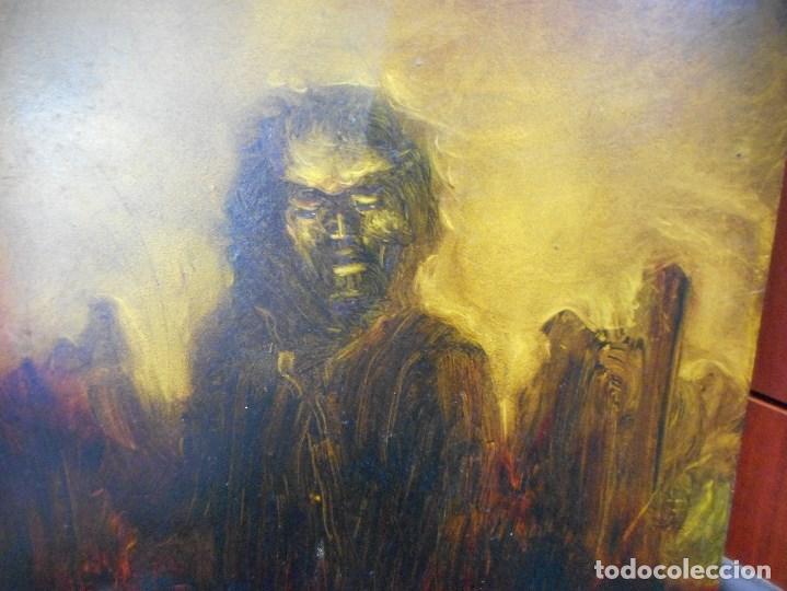 Arte: cuadro de camilo valenzuela firmado y dedicado - Foto 2 - 109465411