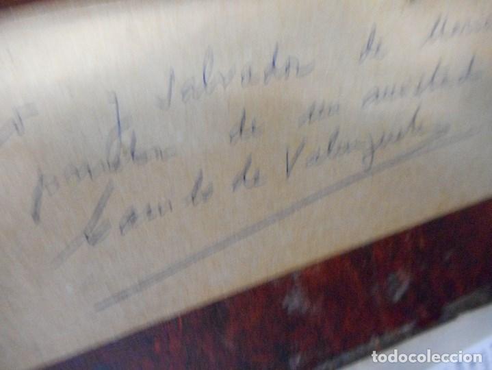 Arte: cuadro de camilo valenzuela firmado y dedicado - Foto 8 - 109465411