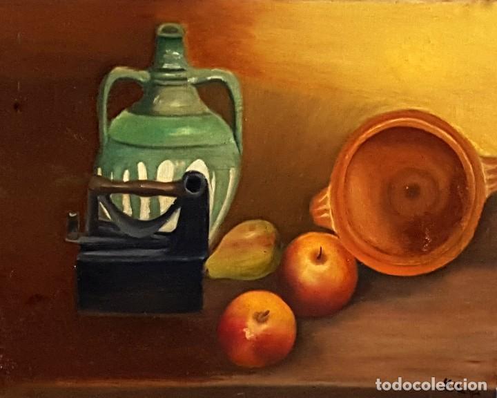 RECUERDOS. OLEO DE LEO MARTIN PINELA (Arte - Pintura - Pintura al Óleo Contemporánea )
