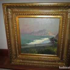 Arte: SOBERBIO OLEO DEL GRAN PINTOR - EGUILUZ-. Lote 109753011