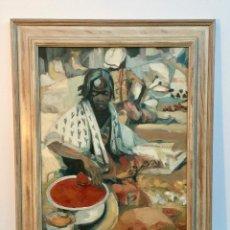Arte: FIRMADO CARDONA , BONITO OLEO SOBRE TABLA . Lote 109803499