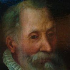 Arte: PINTURA,OLEO,SIGLO XVII-XVIII,POSIBLE RETRATO MIGUEL DE CERVANTES,AUTOR DE DON QUIJOTE DE LA MANCHA. Lote 109839515
