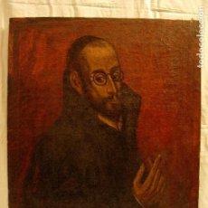 Arte: PINTURA CABALLERO JUDIO, CARACTERÍSTICAS Y ÉPOCA DEL GRECO SIGLO XVI. Lote 110022211