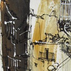 Arte: CUADRO DE BERNARD DUFOUR. OLÉO SOBRE TELA. Lote 110195207
