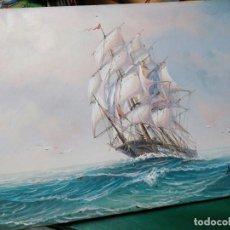 Arte: PINTURA ORIGINAL DEL PINTOR AMBROSE. Lote 110248383