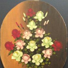 Arte: MILLÁN. ÓLEO SOBRE LIENZO ADHERIDO A TABLA. FIRMADO Y FECHADO EN 1973. Lote 110264047