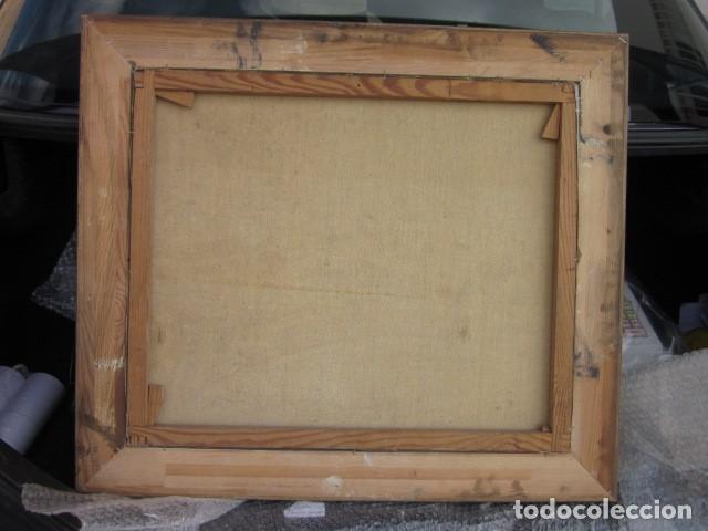 Arte: cuadro oleo bodegon enmarcado con firma R. Canals, año 65, medidas: 68 x 59 - Foto 3 - 110330611