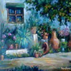 Arte: ÓLEO SOBRE TELA. PINTURA VALENCIANA. Lote 110352799