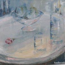 Arte: JULIO FERNANDEZ ARGUELLES. (ARTORGA-LEÓN, 1923-CORUÑA 2002). BODEGON.. Lote 110400967