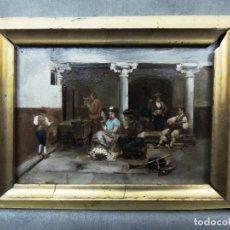 Arte: PAREJA TABLAS SIGLO XIX. HISTORIA. Lote 110455839