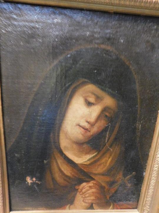 Arte: VIRGEN MARIA DOLOROSA FINALES DEL S. XVIII-XIX - Foto 5 - 29633937