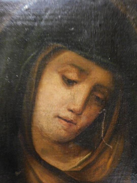 Arte: VIRGEN MARIA DOLOROSA FINALES DEL S. XVIII-XIX - Foto 6 - 29633937