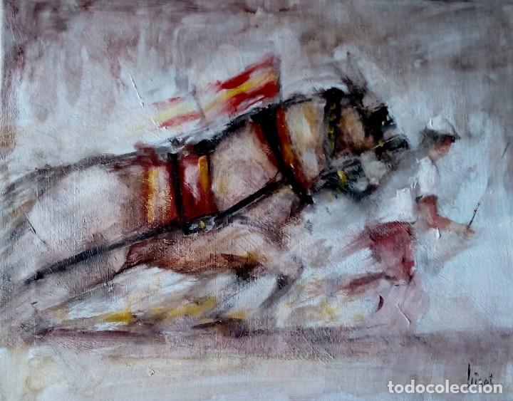 PINTURA TAURINA. ÓLEO SOBRE LIENZO (Arte - Pintura Directa del Autor)