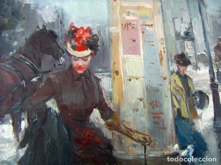 Arte: Pintura al oleo de JUAN SOLER CON MARCO - Foto 5 - 110642963
