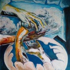 Arte: PINTURA SURREALISTA,FIRMADA. Lote 110654203