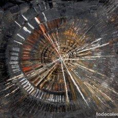 Arte: Mª ANGELA VIÑALS SOLER. TECNICA MIXTA SOBRE TABLA TITULADO TIEMPO Y ESPACIO. FECHADO DEL AÑO 2004. Lote 110805495