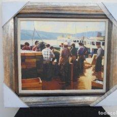 Arte: DESCARGANDO LA CAPTURA DE BARREIROS. Lote 110809427
