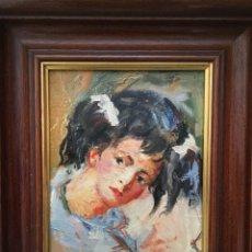 Arte: MUJER POR ROGELIO GARCÍA VÁZQUEZ (MAGUILLA, BADAJOZ 1909-2010). Lote 110889687