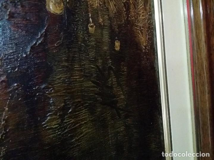 Arte: Óleo sobre lienzo. Paisaje campestre - Foto 6 - 110949291