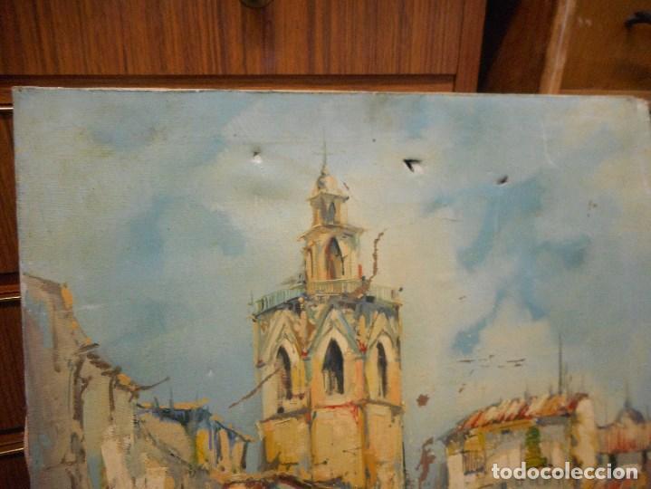 Arte: oleo posible pintor sevillano domingo fernandez gonzalez 1862 1918, firmado fdez gonzalez - Foto 2 - 111032163