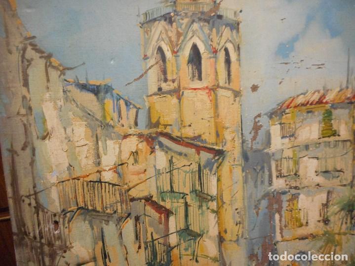 Arte: oleo posible pintor sevillano domingo fernandez gonzalez 1862 1918, firmado fdez gonzalez - Foto 3 - 111032163